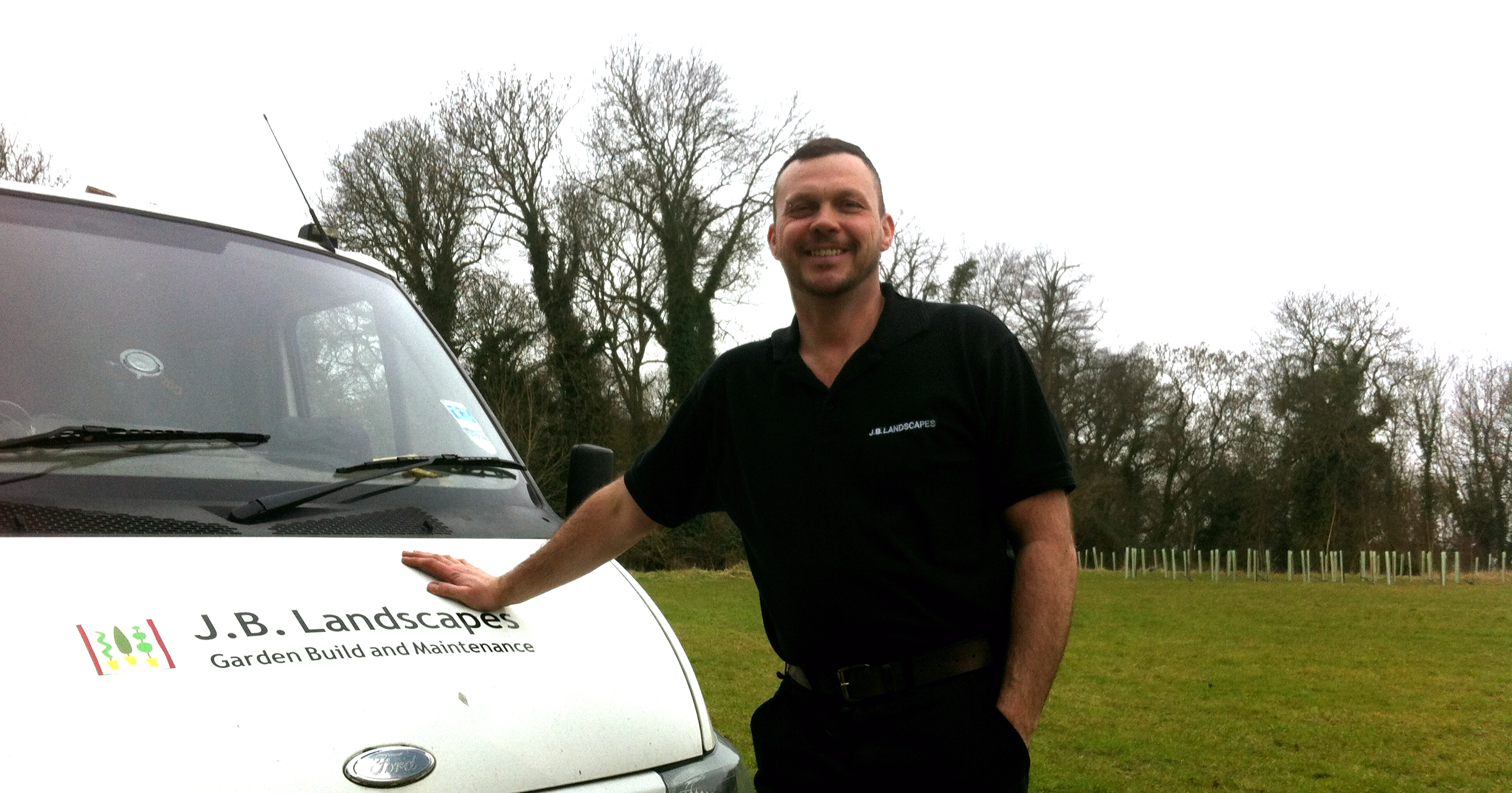 James Bufton and his van