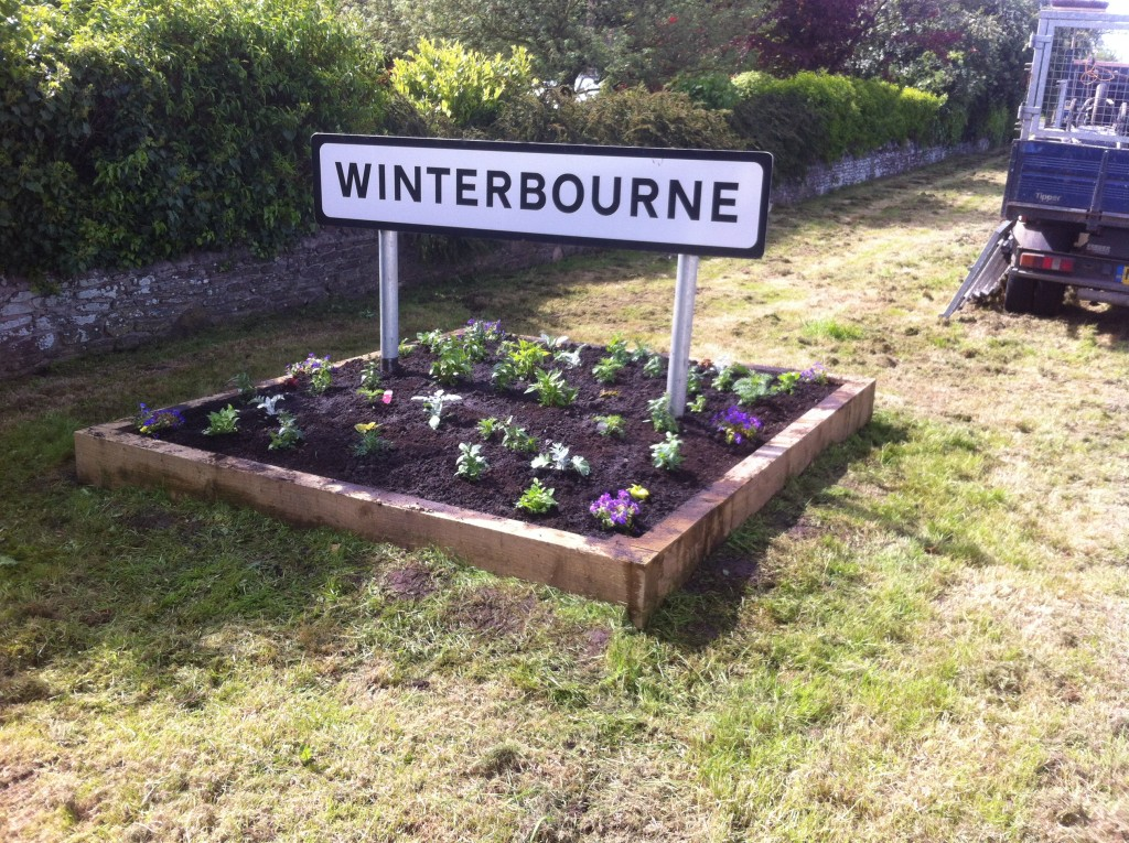 winterbourne sleeper planter